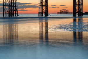 West Pier Brighton. Landscape Photographer Sussex.