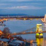Blue hour in Budapest. Slawek Staszczuk Photography.