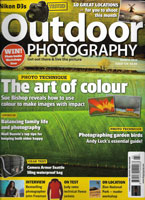 Outdoor Photography mag cover by freelance photographer Slawek Staszczuk