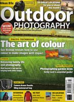 Outdoor Photography mag cover by freelance photographer Slawek Staszczuk