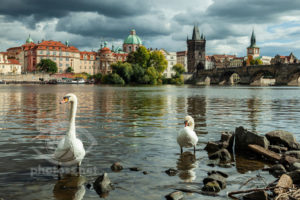 Vltava in Prague. Photography Workshops Slawek Staszczuk.