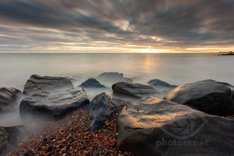 Winter on Shoreham Beach, West Sussex. Landscape Photography Slawek Staszczuk.