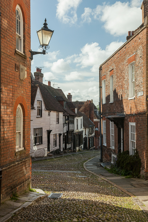 Rye, West Street. Sussex Landscape Photography.
