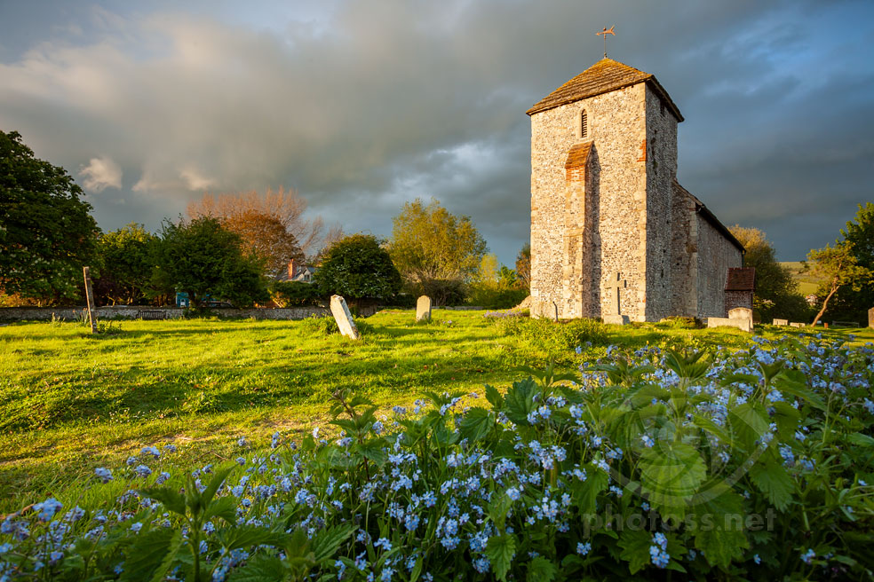 St Botolph's Church. Sussex Landscape Photography.
