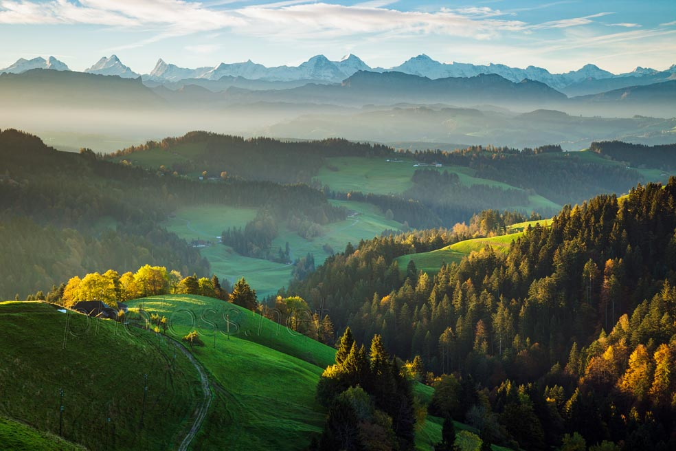 Emmental in autumn. Slawek Staszczuk Photography.