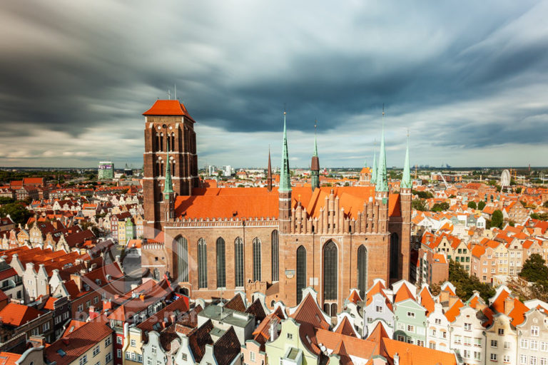 Gdansk old town. Slawek Staszczuk Photography.