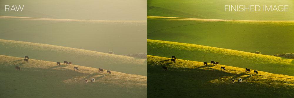 Telephoto landscape photography. Slawek Staszczuk.