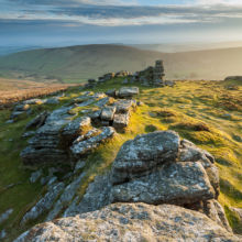 Hookney Tor in Dartmoor. Landscape Photography by Slawek Staszczuk.