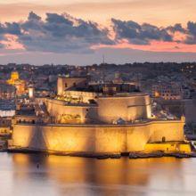 Saint Angelo Fort Malta. Travel Photographer Slawek Staszczuk.