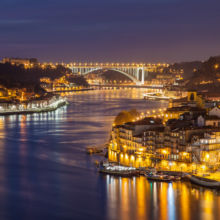 Porto by Night. Freelance Photographer Slawek Staszczuk