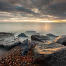 Winter on Shoreham Beach, West Sussex. Landscape Photography Slawek Staszczuk.