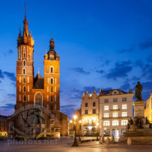 St Mary's church Krakow. Slawek Staszczuk Photography Workshops.