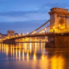 Chain Bridge Budapest. Freelance photographer Slawek Staszczuk.