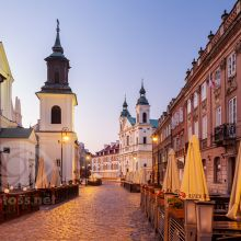 Warsaw New Town. Slawek Staszczuk Photography Workshops.